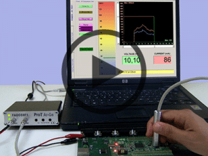 Power IR-Test : Obtaining heat map in IR Temparature Screen